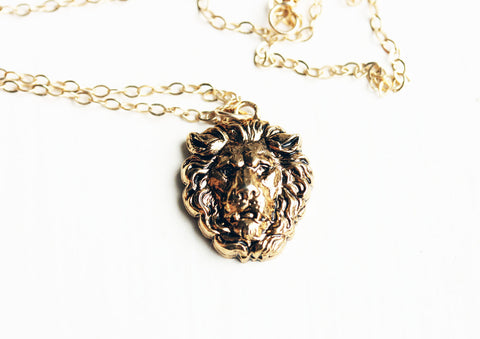 Cecil the Lion Necklace All Profits Donated to Wildlife CRU