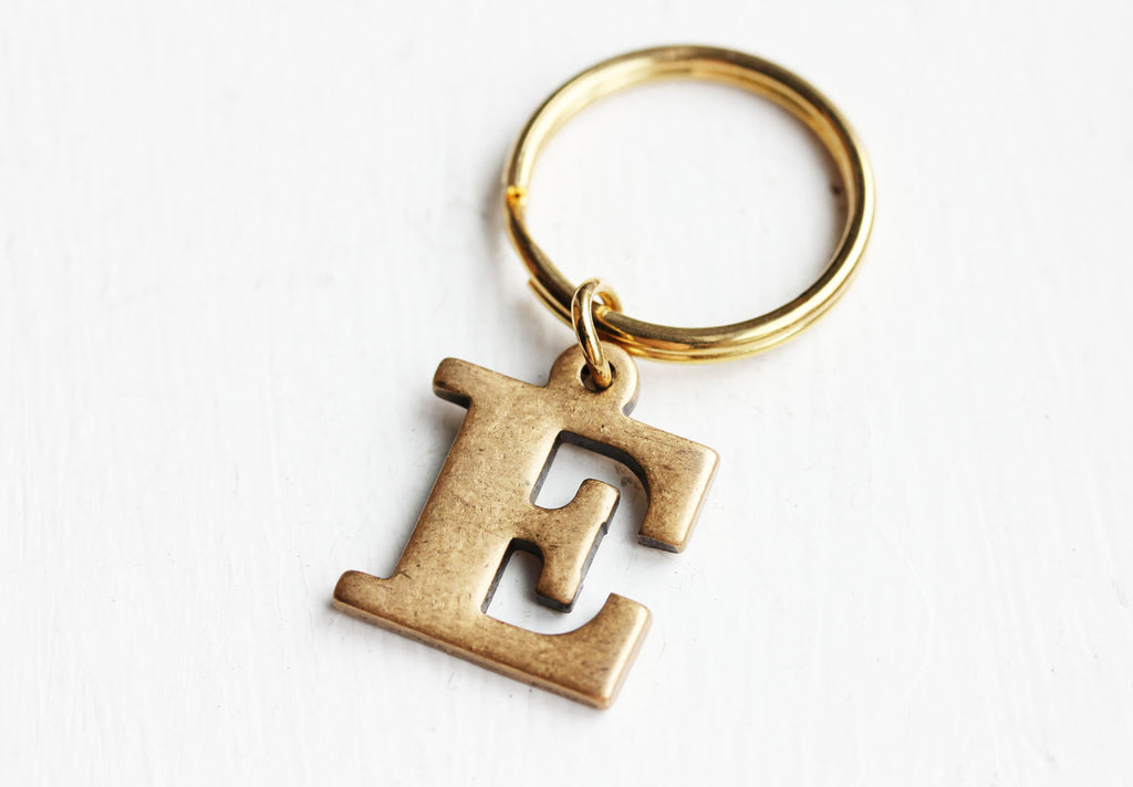 Brass vintage key chain from Diament Jewelry, a gift shop in Washington, DC.