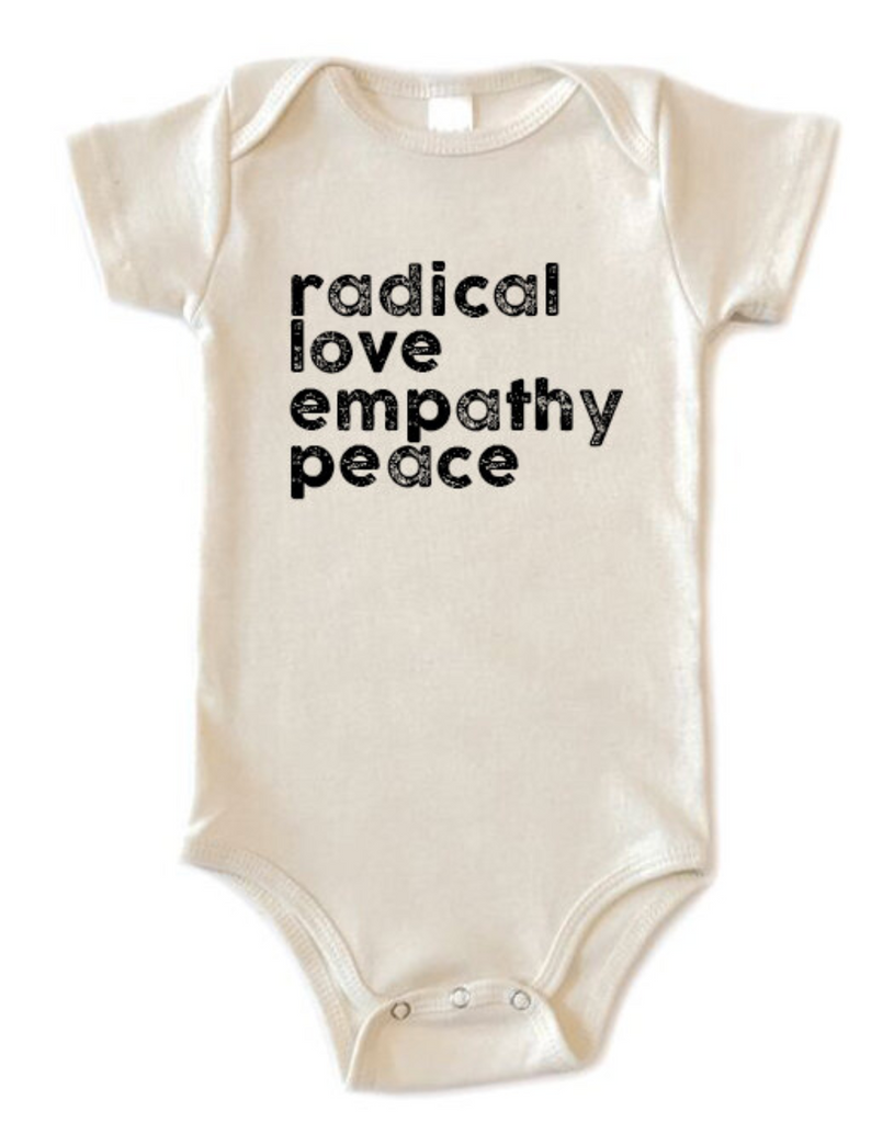 Disco Panda Kids Radical Love Onesie from Diament Jewelry, a gift shop in Washington, DC.