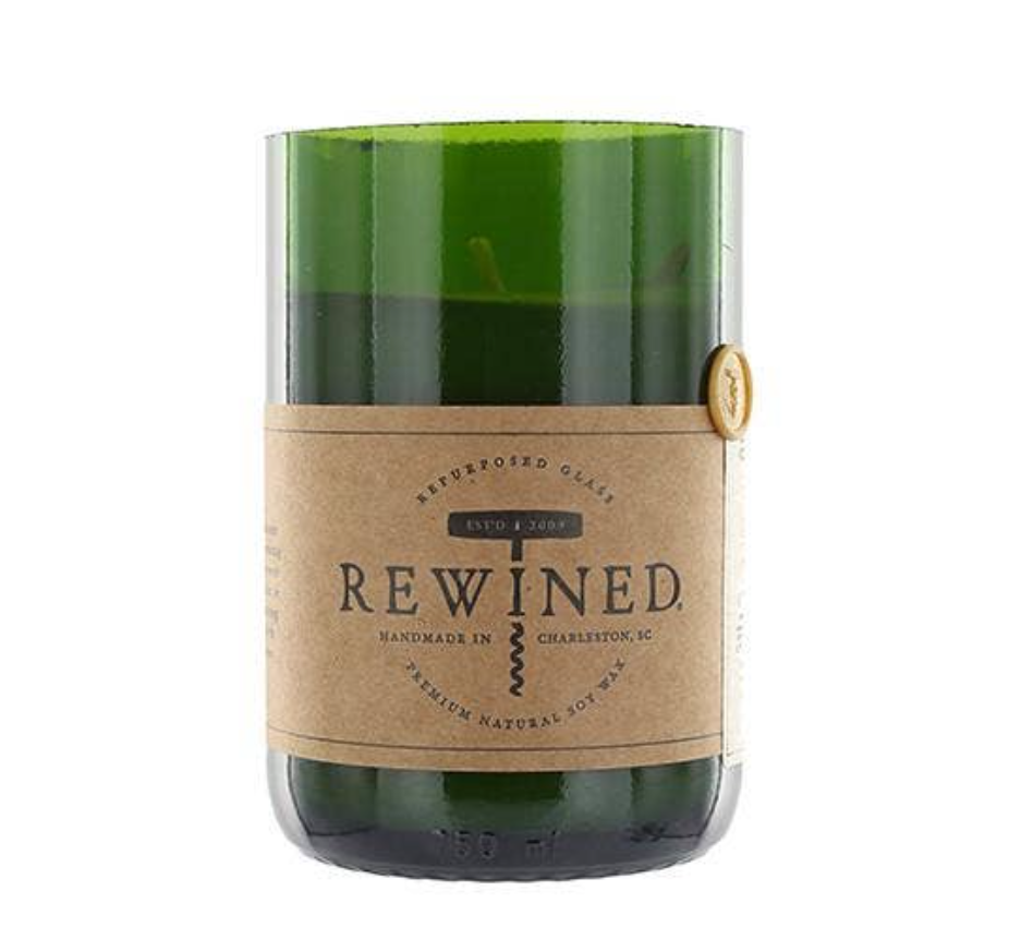 Rewined Sangria Candle from Diament Jewelry, a gift shop in Washington, DC.