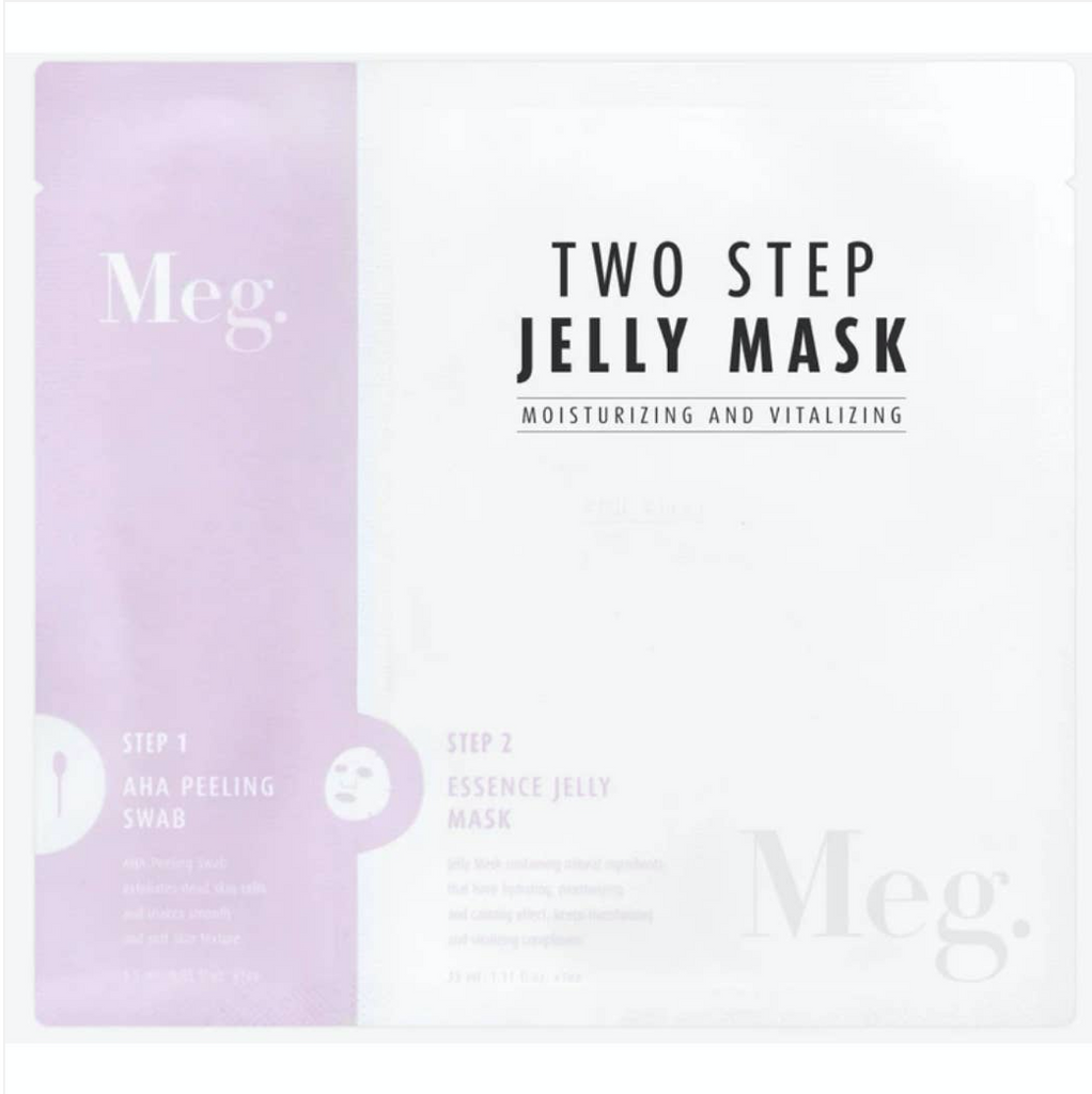 Meg Two Step Moisturizing and Vitalizing Jelly Mask from Diament Jewelry, a gift shop in Washington, DC.