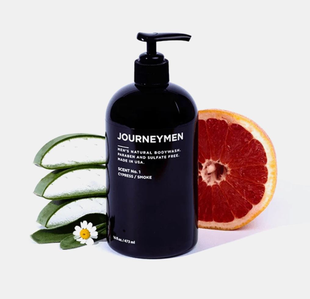 Journeymen Men's Body Wash from Diament Jewelry, a gift shop in Washington, DC.