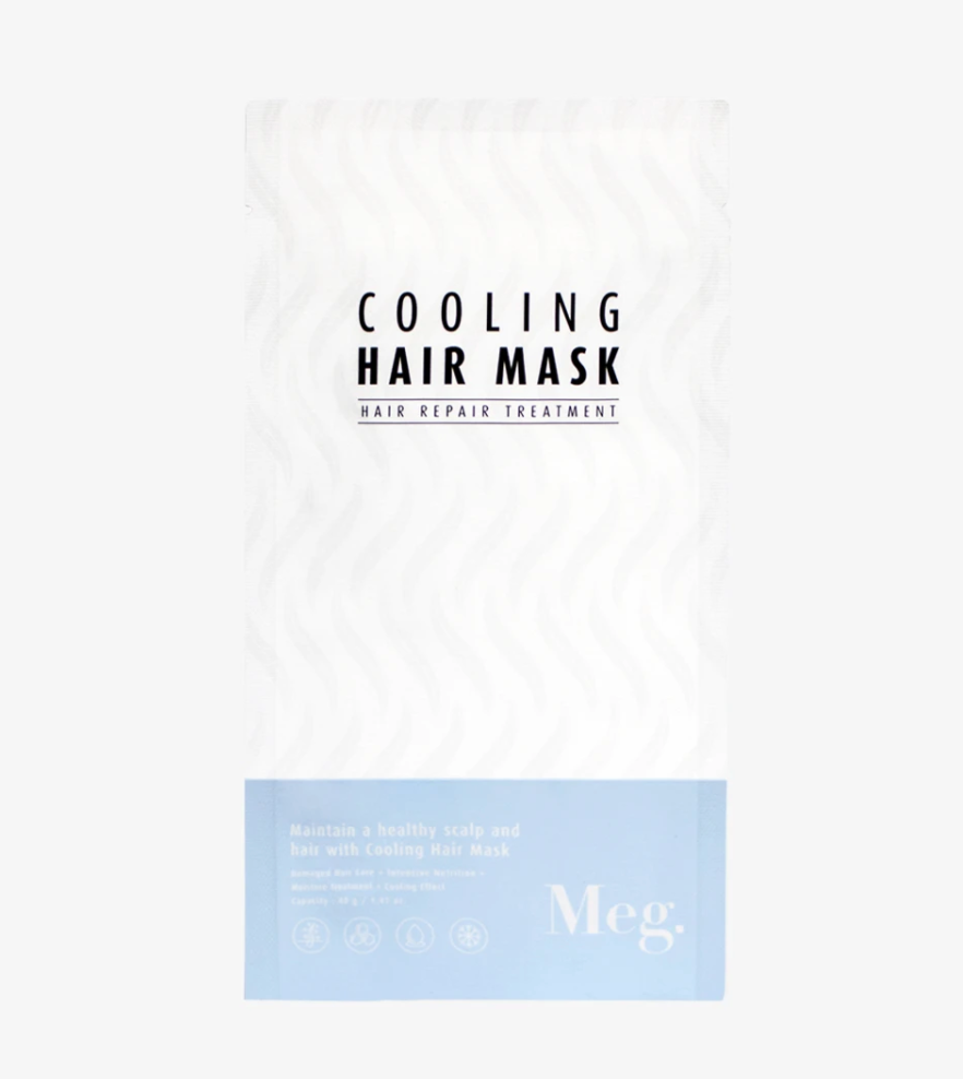 Meg Cooling Hair Mask from Diament Jewelry, a gift shop in Washington, DC.