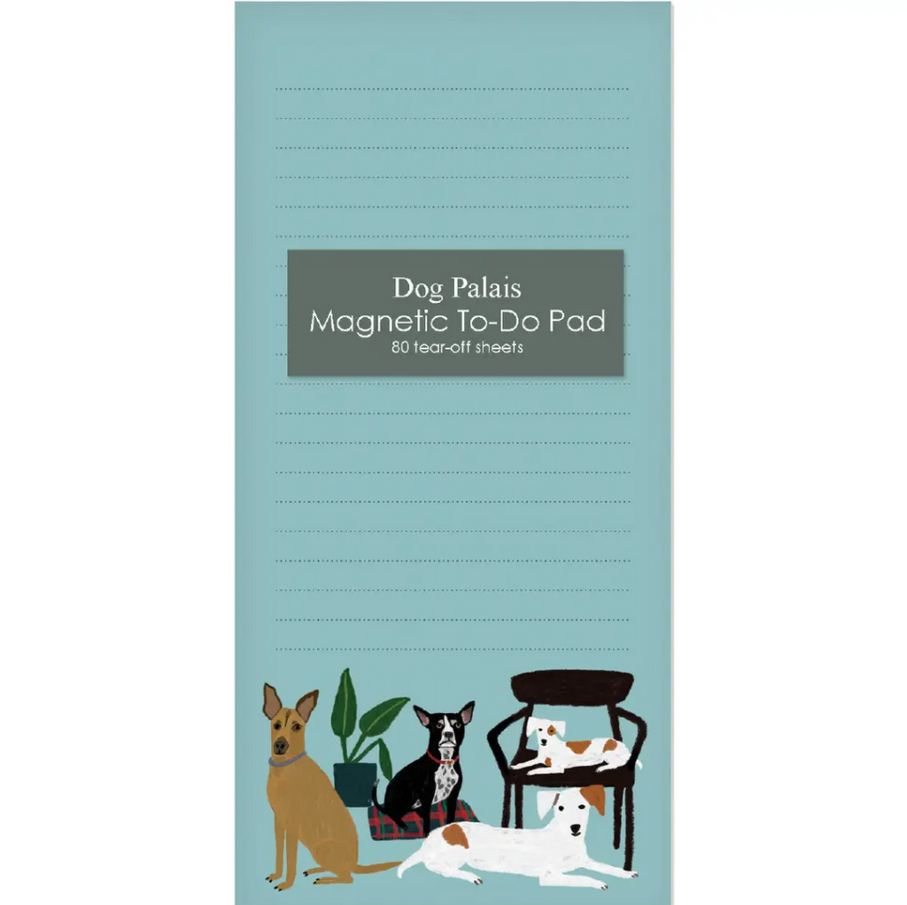 Dog Palais Magnet Notepad from Diament Jewelry, a gift shop in Washington, DC.