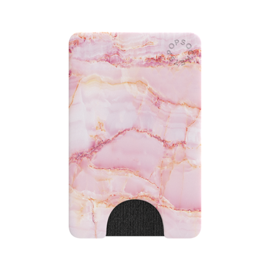 Pink marble phone wallet from Diament Jewelry, a gift shop in Washington, DC.
