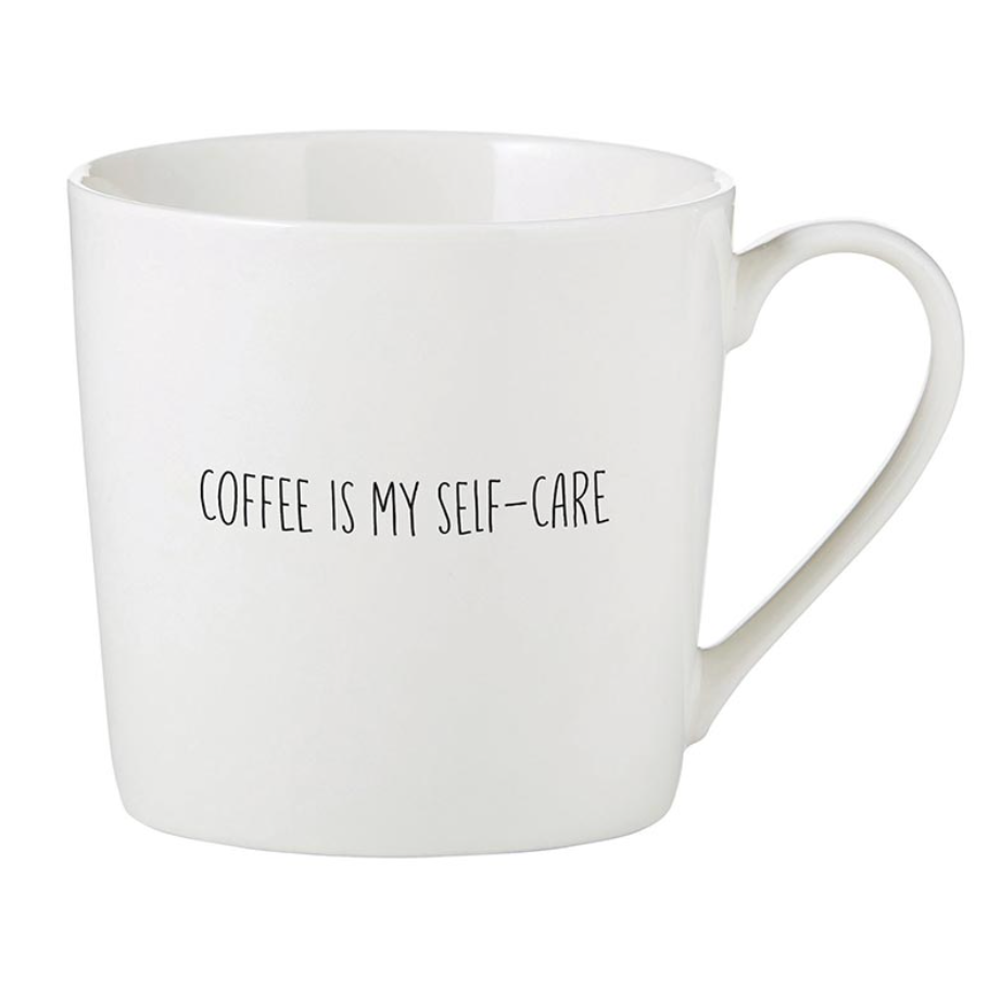 Sips Drinkware Coffee is My Self Care Mug from Diament Jewelry, a gift shop in Washington, DC.