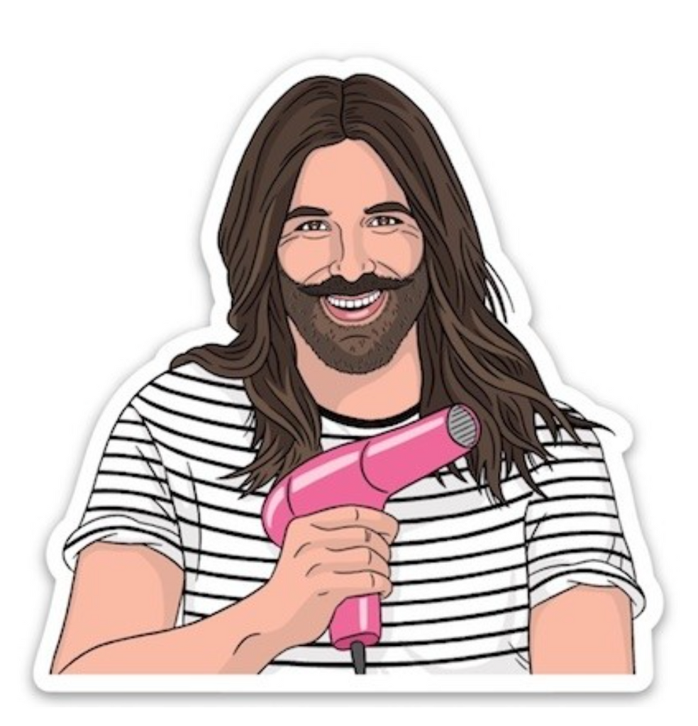 The Found JVN Sticker from Diament Jewelry, a gift shop in Washington, DC.