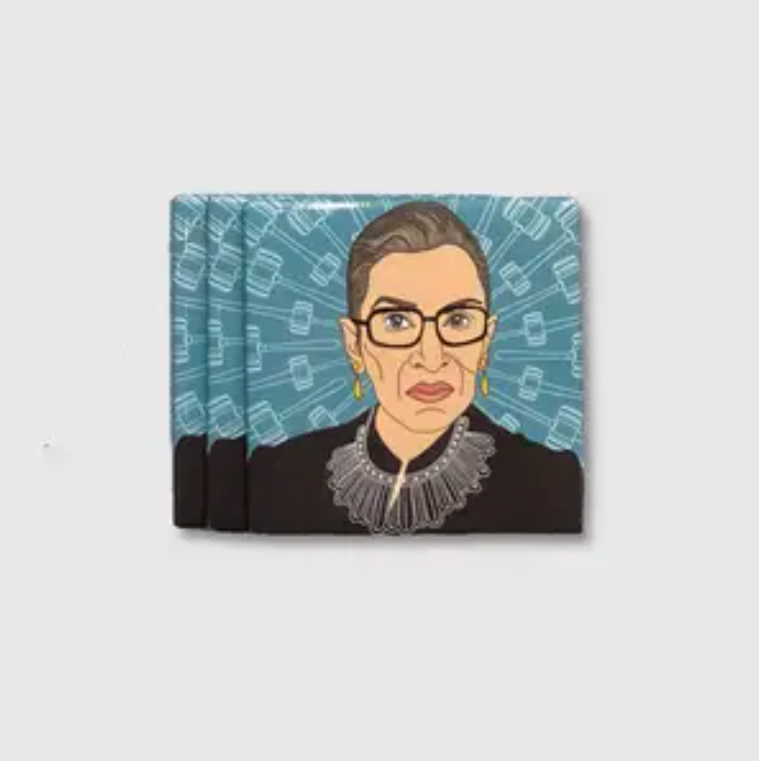 Citizen Ruth Notorious RBG Magnet from Diament Jewelry, a gift shop in Washington, DC.