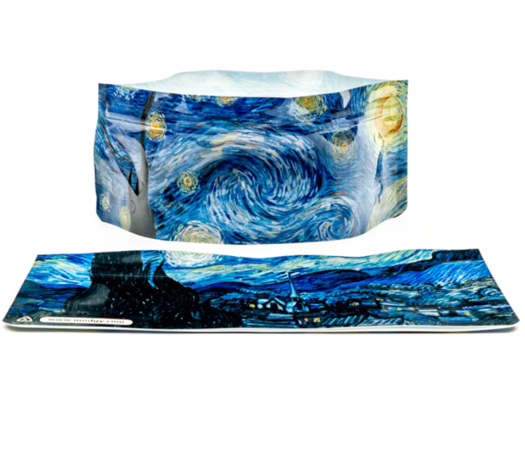 Modgy Starry Night dog bowl from Diament Jewelry, a gift shop in Washington, DC.