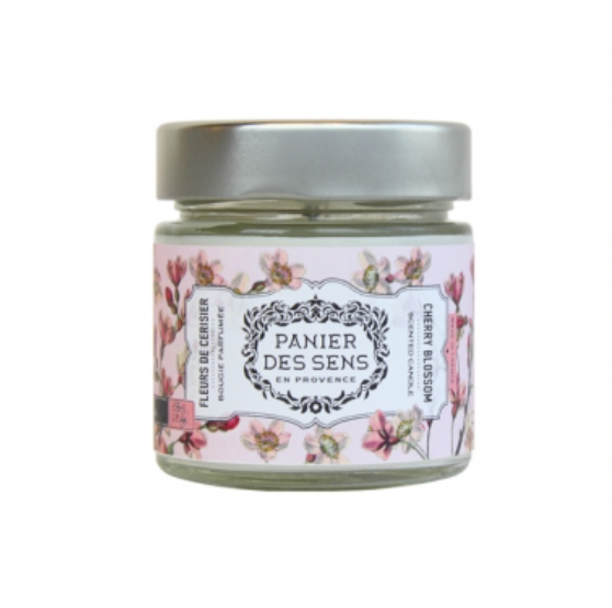 Panier Des Sens Cherry Blossom Candle from Diament Jewelry, a gift shop in Washington, DC.