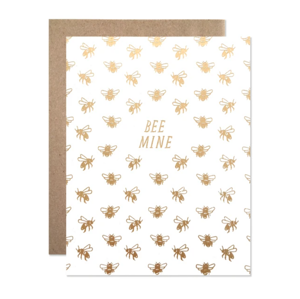 Bee Mine Card from Diament Jewelry, a gift shop in Washington, DC.
