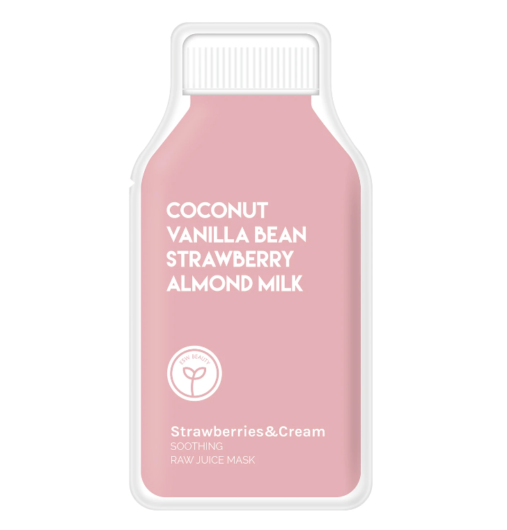 Strawberries and Cream Soothing Raw Juice Mask from Diament Jewelry, a gift shop in Washington, DC.