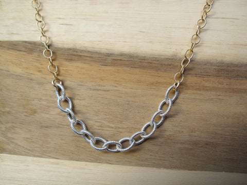 Nautical Chain Gold and Silver