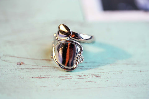 Silver Vintage Spoon Ring