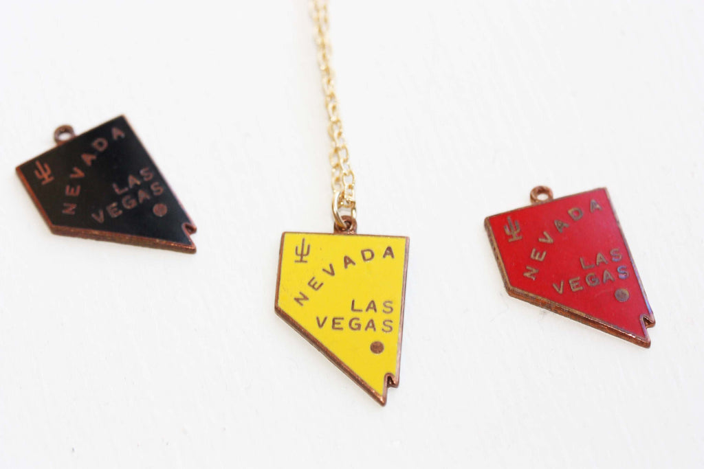Lucky Las Vegas Charm Necklace