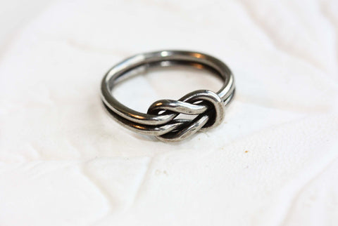 Sailor Knot Ring - Silver