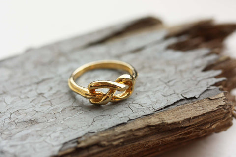 Gold Sailor Knot Ring