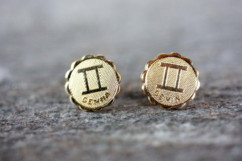 Astrology Studs - Gemini
