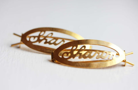Vintage Hair Clips - Sharon