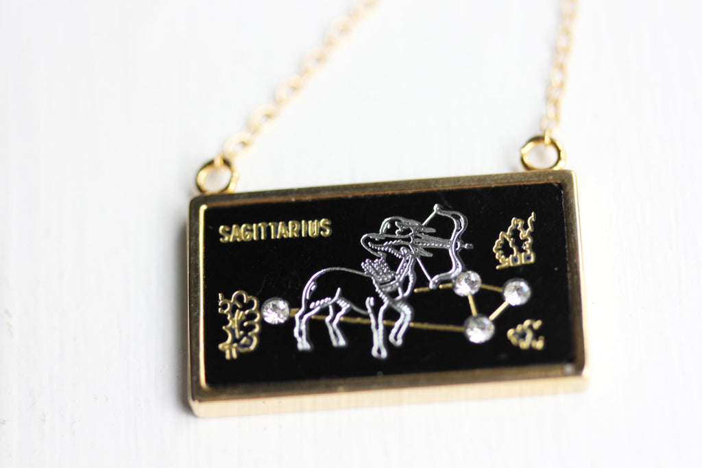 Saggitarius Charm Necklace