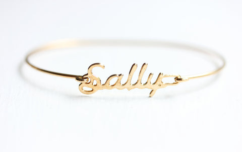 Vintage Name Bracelet - Sally