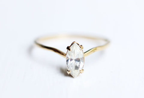 Marquis Crystal Ring - Size 5