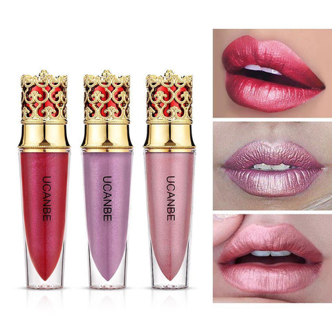 Crown Velvet 4 Colors Matte Lipstick And 6 Colors Lipgloss
