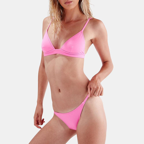Sexy three-point bikini split swimsuit