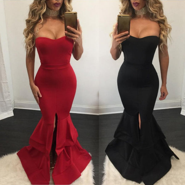 Sexy Fishtail Evening Dress