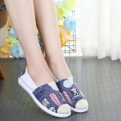 Sweat Girls Round Toe Comfort Casuals Slip-On Shoes