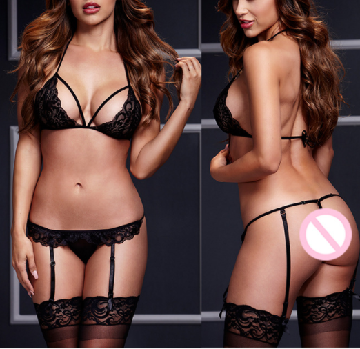 Three-Point Lace Sexy Lingerie