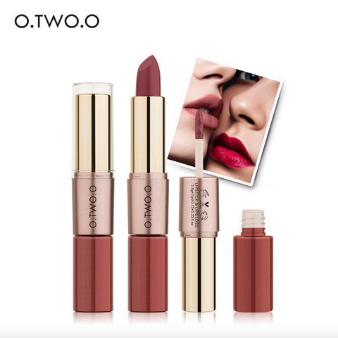 12 Colors Lips Makeup Lipstick Lip Gloss