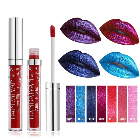 Glitter Flip Diamond Lip Gloss