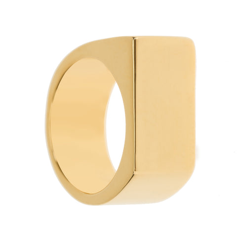 UNA Fashion Eco Gold Ring