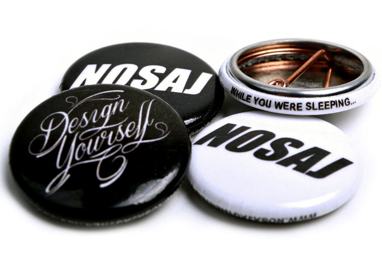 Collectable Nosaj Buttons