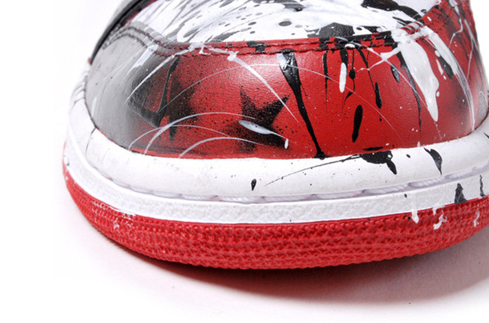 Retro Jordan 1 Hand-painted by Jason Ford