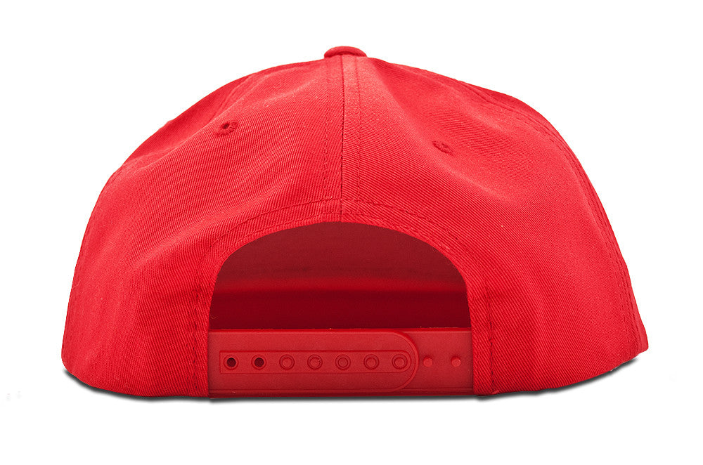 Be Bold Snapback | Red
