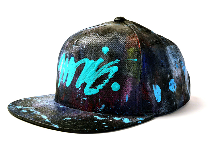 Nosaj Snapback hand-painted by Jason Ford