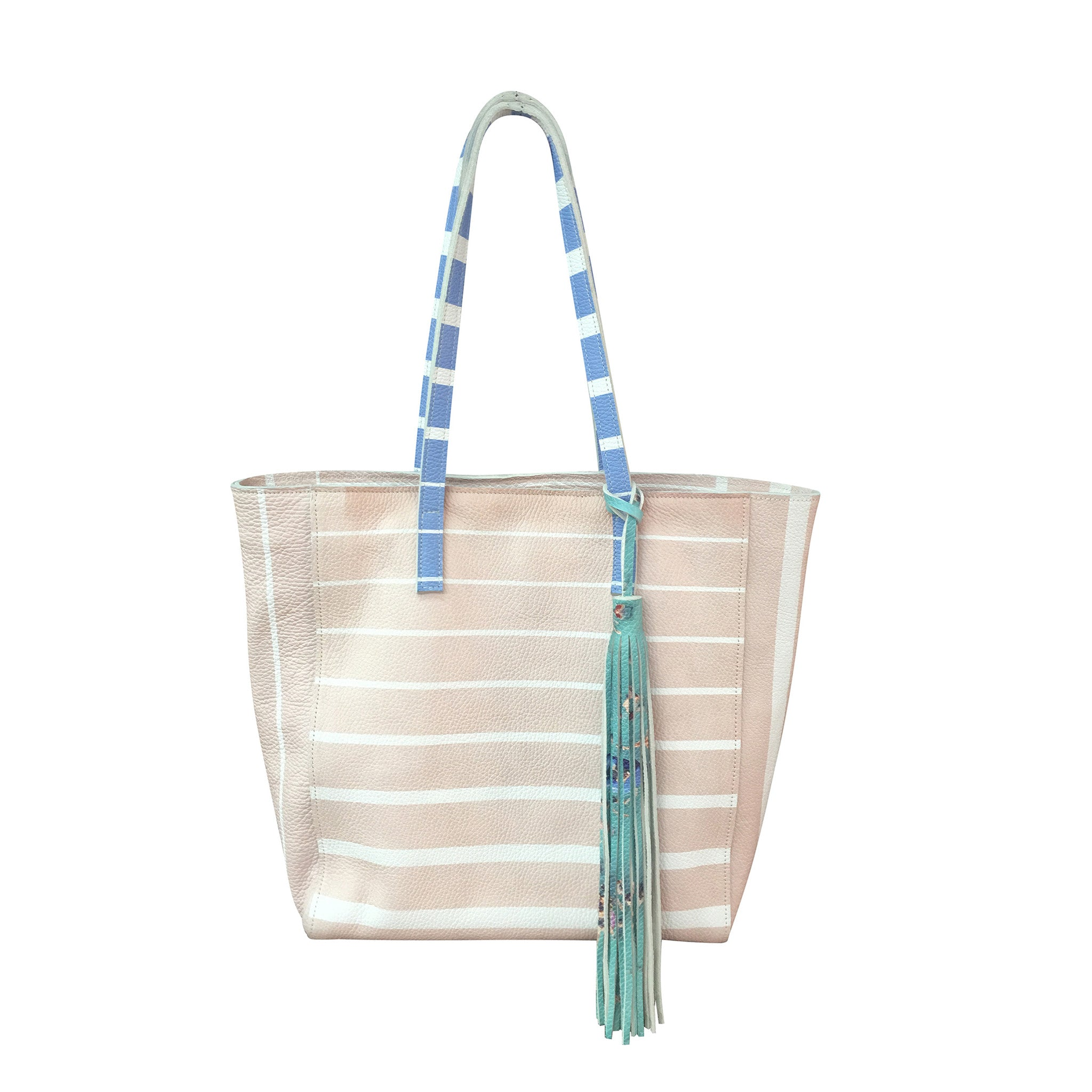 The Pink Stripes Tall Tote