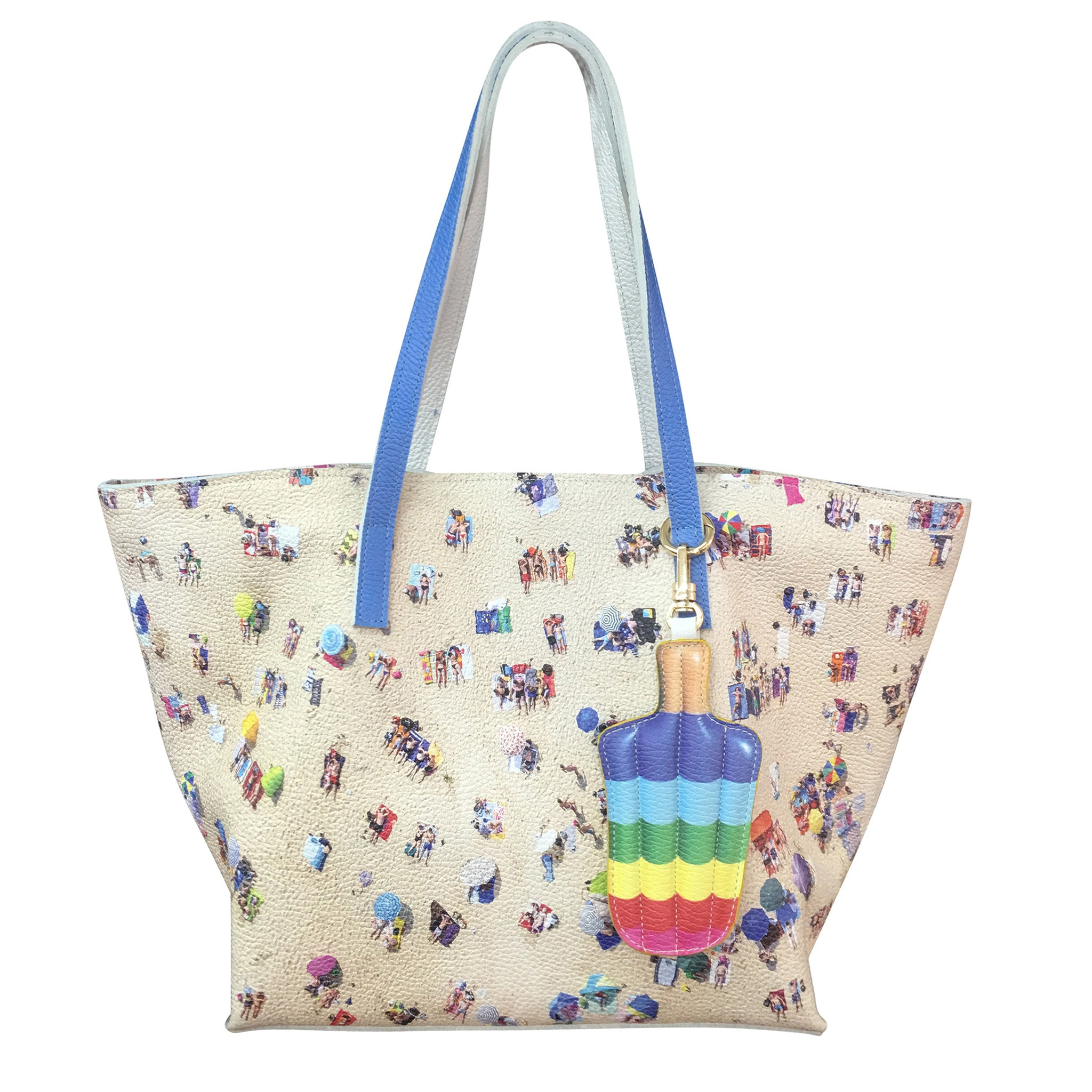The Polka Dot Beach Wide Tote
