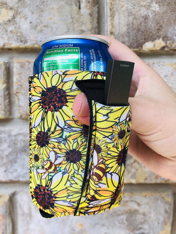 Sunflower Delight Regular Can Cooler - 12 oz