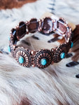 Take Me Out Dancin' Concho Bracelet