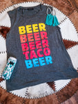 Tacos and Beer Muscle Tank