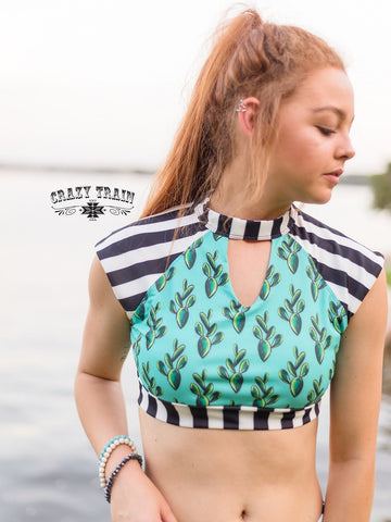 Key West Swim Top