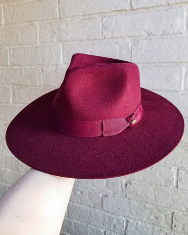 The Outlaw Felt - Burgundy