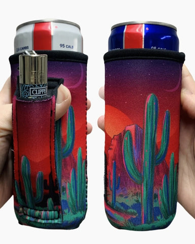 Saguaro Sunset Slim Can Cooler