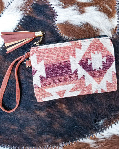 Cattlewoman's Clutch - Red