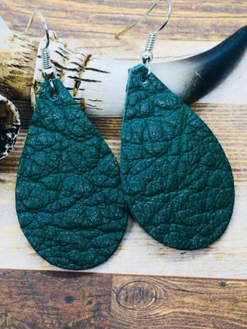 Hunter Green Mini Teardrops