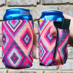 Bright Aztec Regular 12 oz. Can Cooler