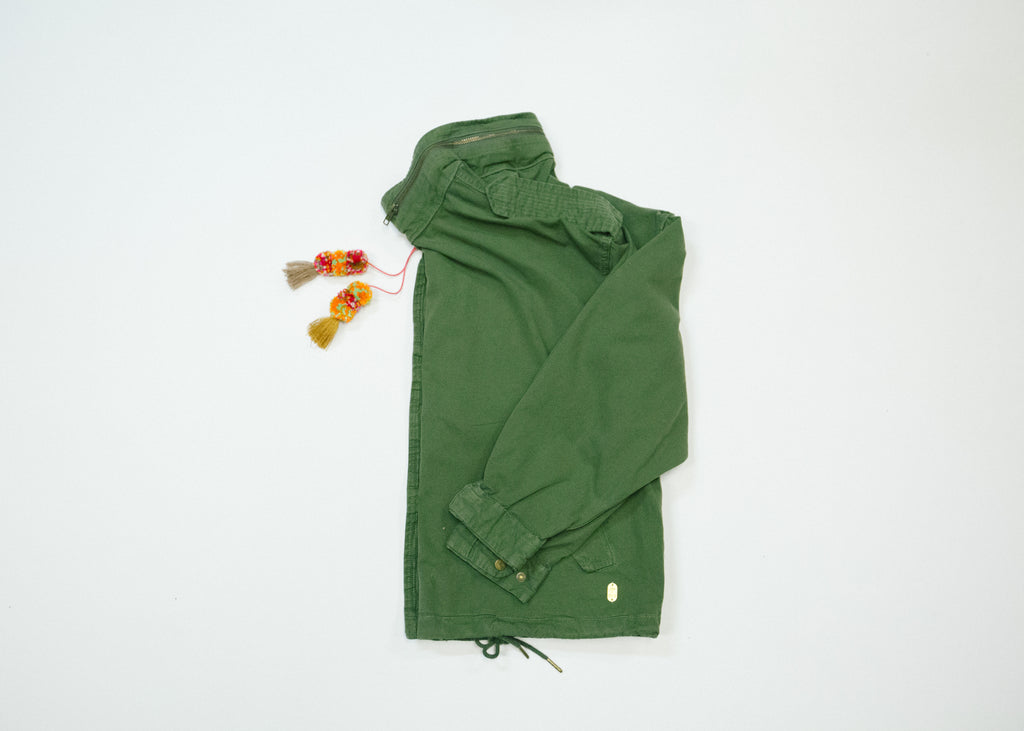 Relaxed Army Jacket